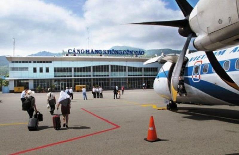 Hình ảnh cảng hàng không Côn Đảo