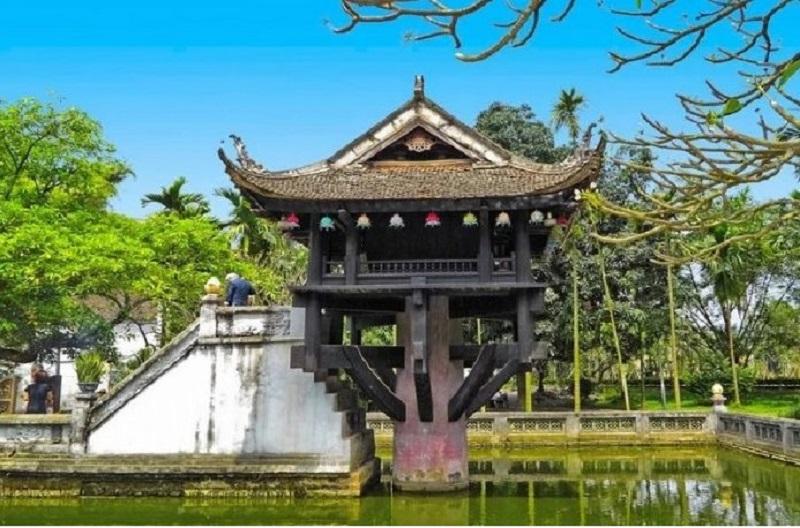 Di tích lịch sử văn hóa Chùa Một Cột tại Hà Nội