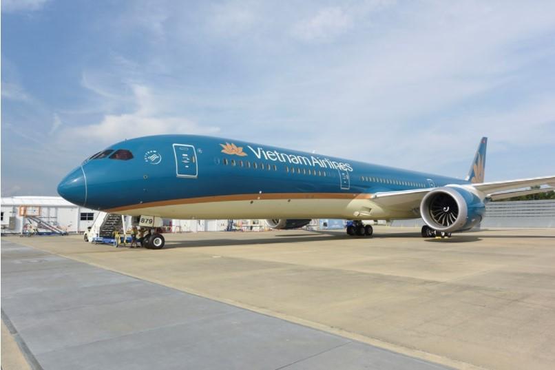 Máy bay của hãng hàng không VietnamAirlines