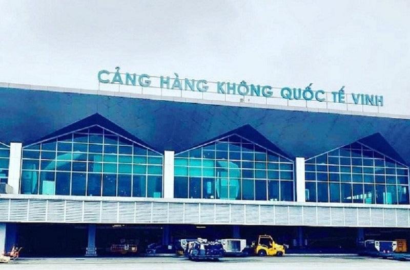 Hình ảnh cảng hàng không quốc tế Vinh, nơi cách trung tâm thành phố gần 10km