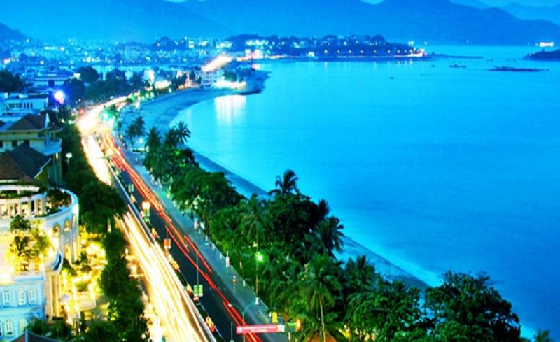 Vẻ đẹp lung linh của thành phố Khánh Hòa về đêm