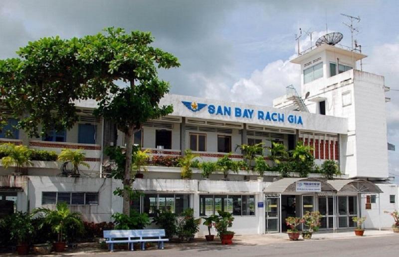 Sân bay Rạch Giá - Kiên Giang chỉ hoạt động vào ban ngày