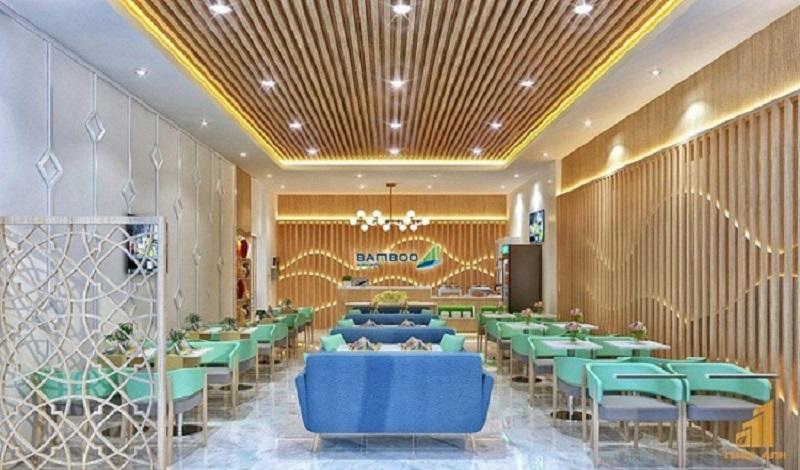 Phòng chờ hạng thương gia của Bamboo Airlines mang lại trải nghiệm tuyệt vời, với sự trang nhã, sang trọng và đầy đủ tiện nghi