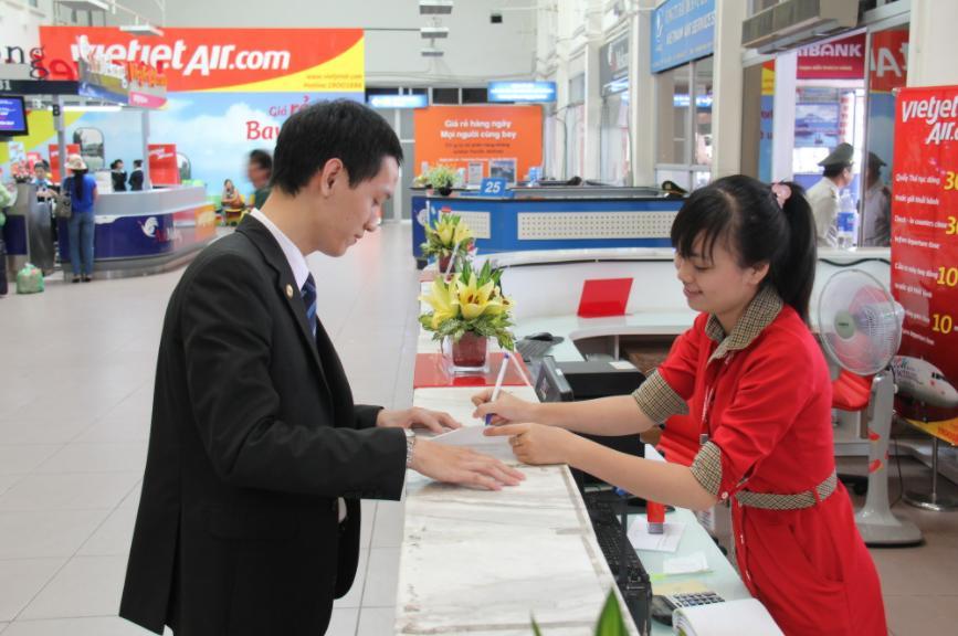 Vietjet Air yêu cầu hành khách phải có mặt tại cửa ra tàu bay trước ít nhất 30 phút so với giờ khởi hành