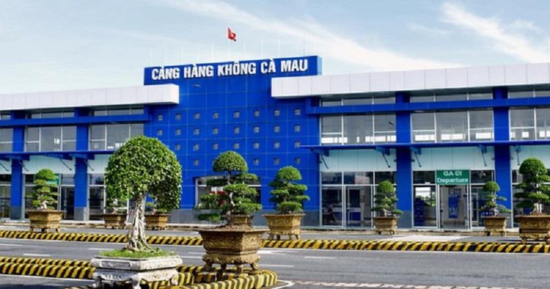Sân bay Cà Mau với tổng diện tích lên đến 2.233m2