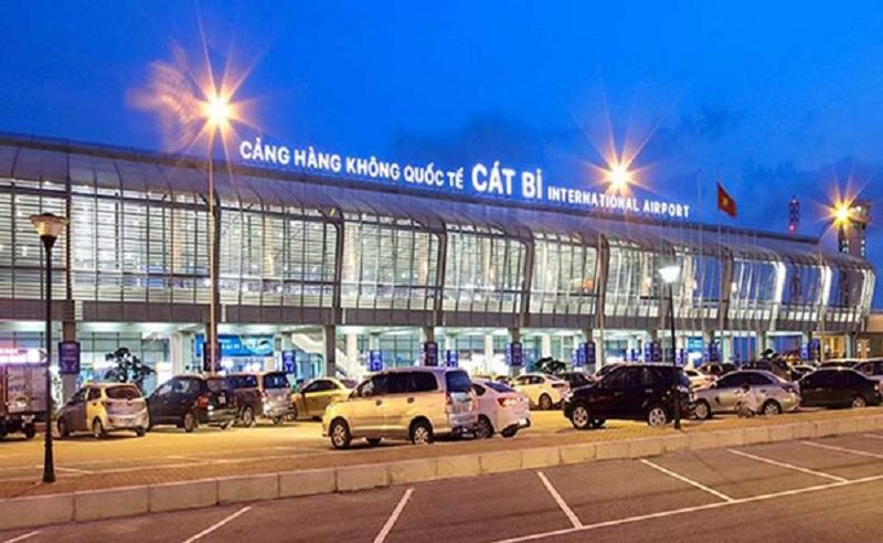 Sân bay Cát Bi thuộc địa phận quận Hải An, đường Lê Hồng Phong, Hải Phòng