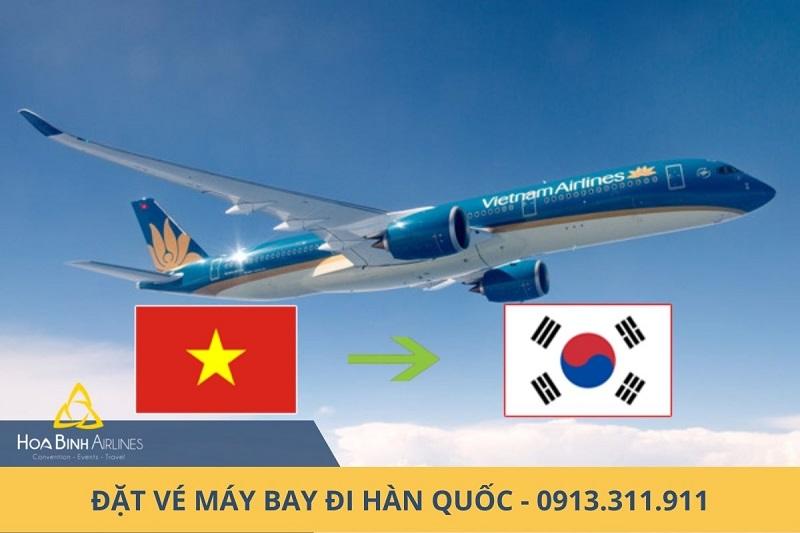 Đặt vé máy bay đi Hàn Quốc tại HoaBinh Airlines
