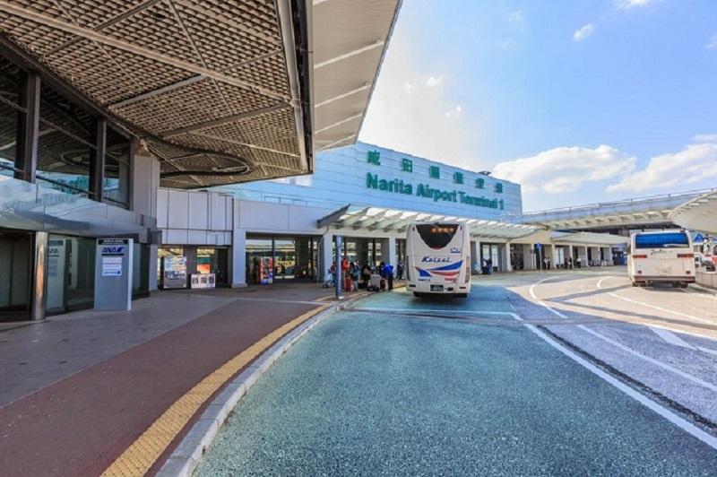 Cổng đón - trả hành khách tại sân bay Narita