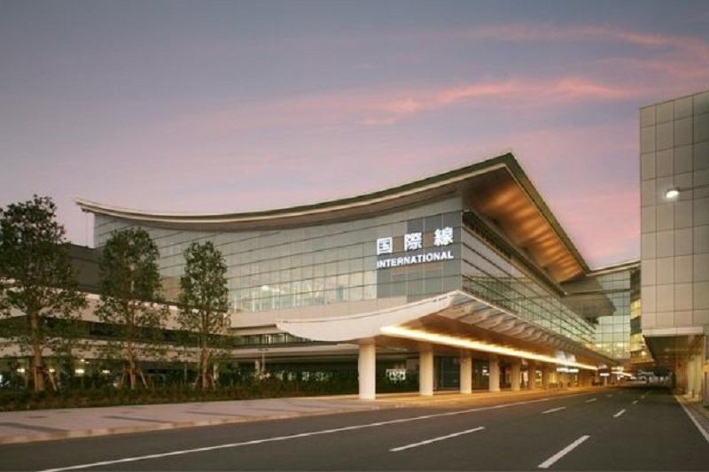 Đường vào sân bay Haneda