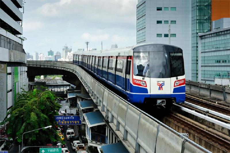 Tàu điện tại Thái Lan