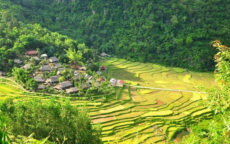 Ngôi làng ẩn mình trong thiên nhiên tại khu bảo tồn Pù Luông