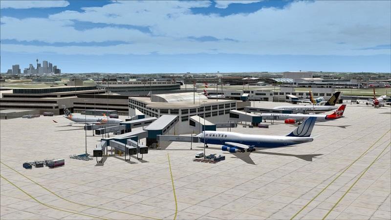Máy bay của các hãng hàng không tại sân bay quốc tế Kingsford Smith