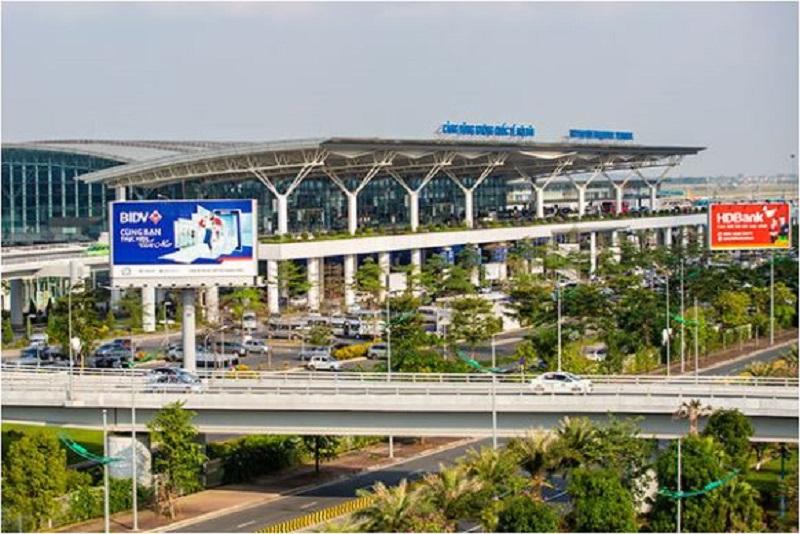Hình ảnh tổng quan cảng sân bay Nội Bài - Một trong hai sân bay lớn nhất cả nước