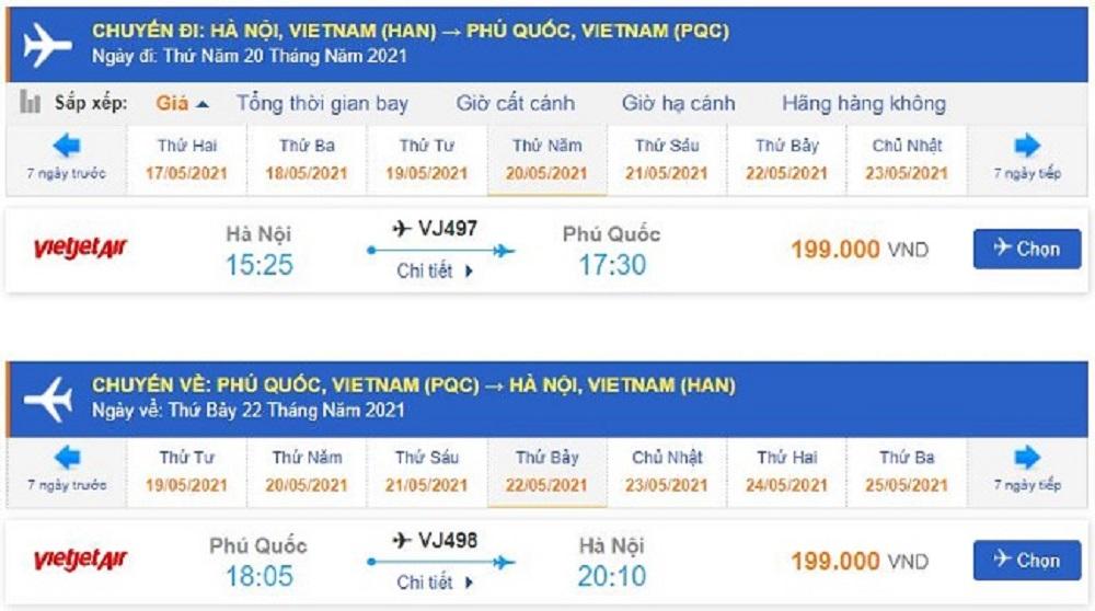 Vietjet Air còn thường xuyên có nhiều chương trình khuyến mãi đối với vé máy bay đi Phú Quốc